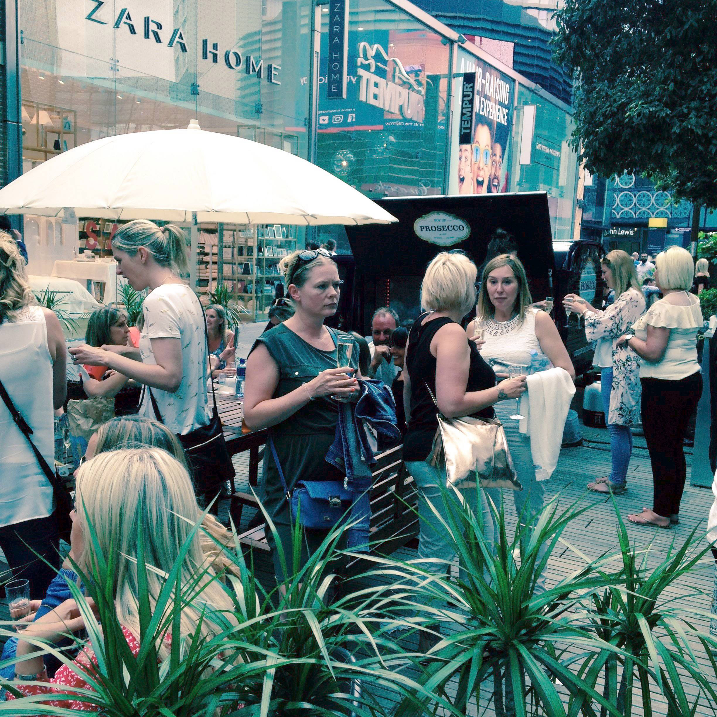 PopUp Prosecco - We entertained you