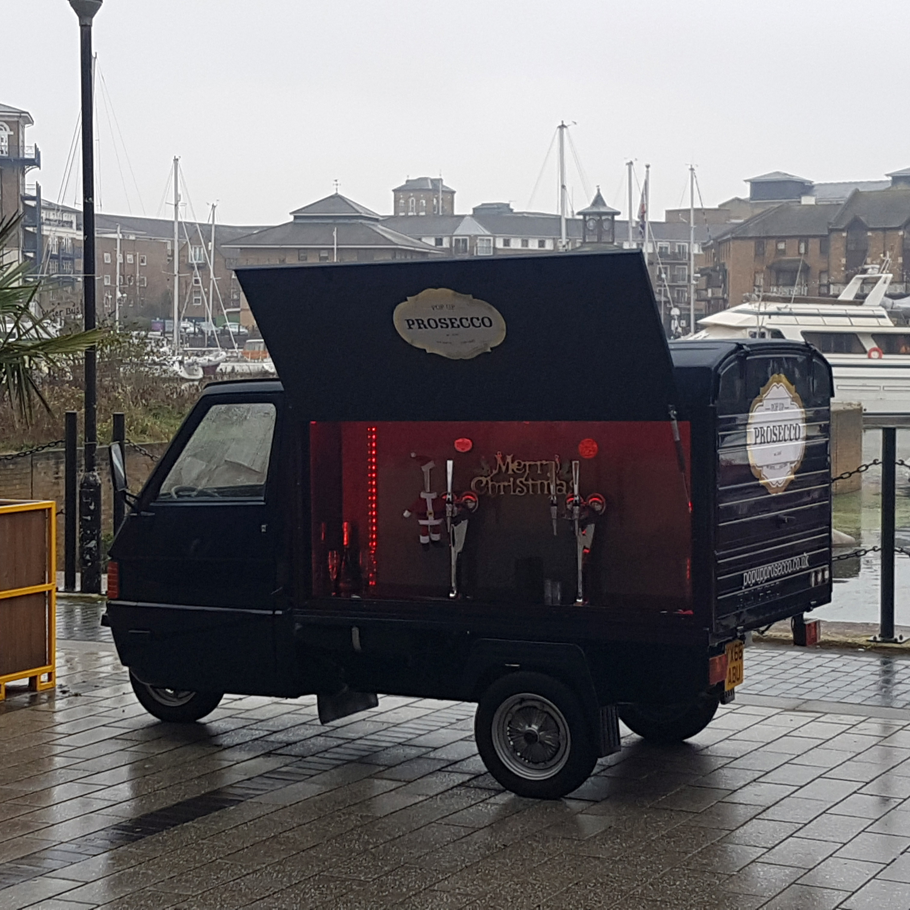 The legendary PopUpProsecco Van